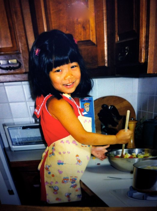 Always cooking from a young age.