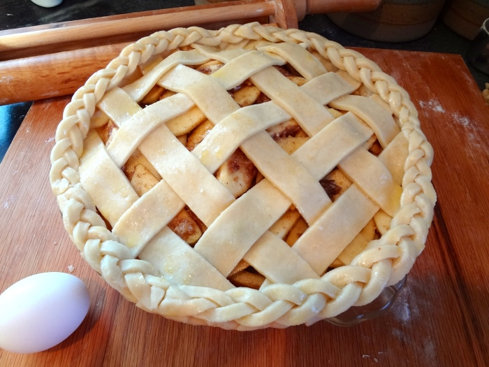 Brown Butter Apple Pie: The Briarwood Baker