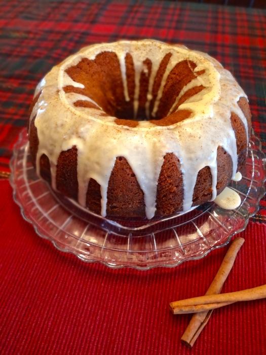 Rum Soaked Eggnog Cake: The Briarwood Baker