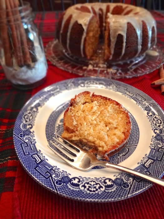 Rum Soaked Eggnog Cake: The Briarwood Baker