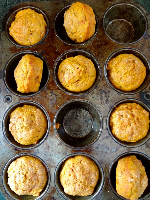Chai Spiced Pumpkin Carrot Muffins: The Briarwood Baker
