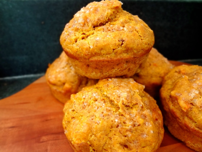 Chai Spiced Pumpkin Carrot Muffins: The Briarwood Baker