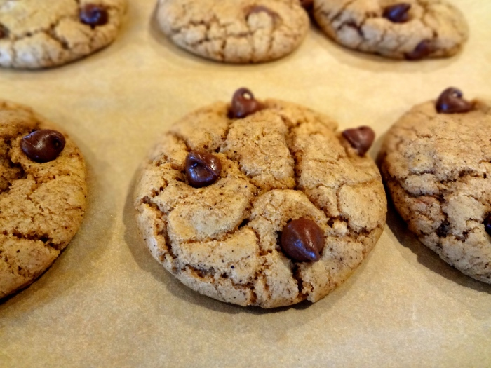 Nutella and Caramel Stuffed Chocolate Chip Espresso Cookies: The Briarwood Baker