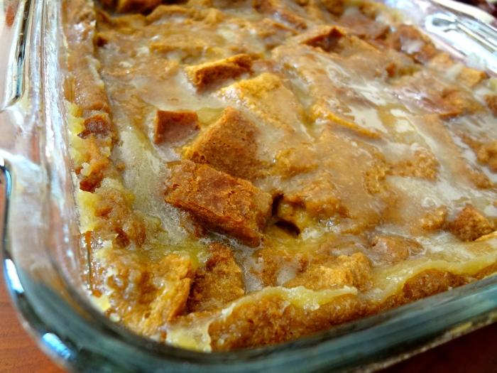 Irish Coffee Bread Pudding: The Briarwood Baker