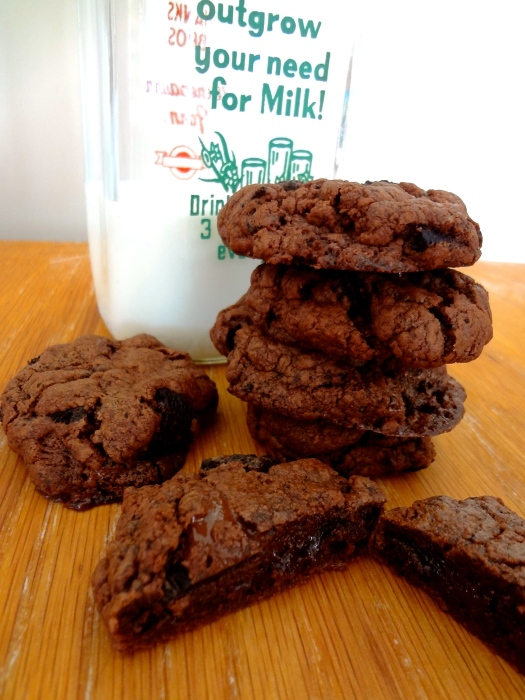 Quintuple Chocolate Cookies: The Briarwood Baker