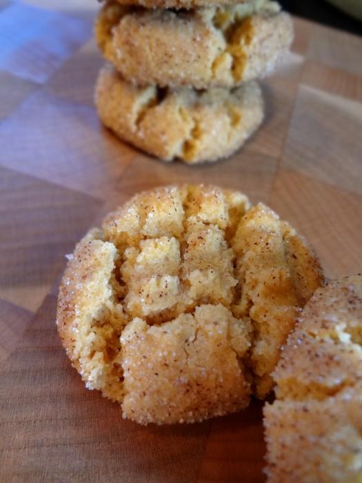 Flourless Cinnamon Sugar Peanut Butter Cookies: The Briarwood Baker