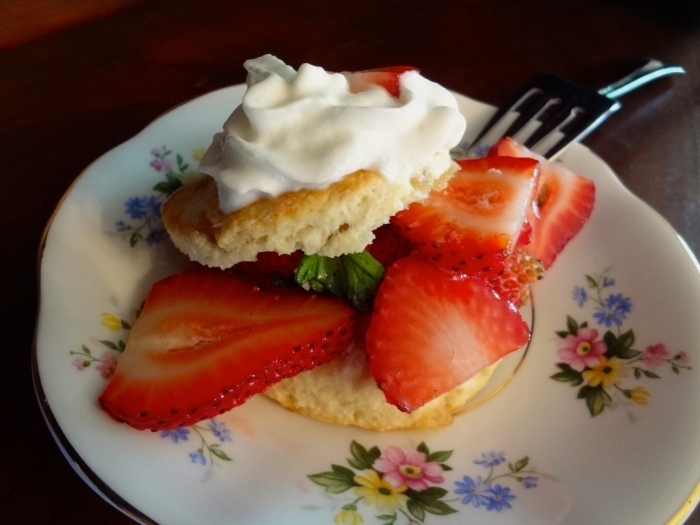 Strawberry Basil Shortcakes: The Briarwood Baker