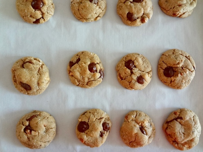 Mocha Coconut Almond Chocolate Chip Cookies: The Briarwood Baker